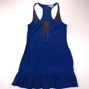 Miss Shop Size 8 Blue Sleeveless Dress